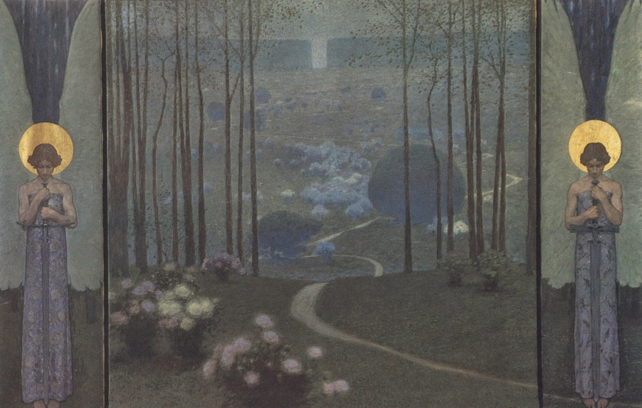 Wilhelm Bernatzik entrée du paradis, 1906 via flickr hauksven.jpg